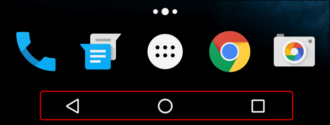 Android Navigation Bar