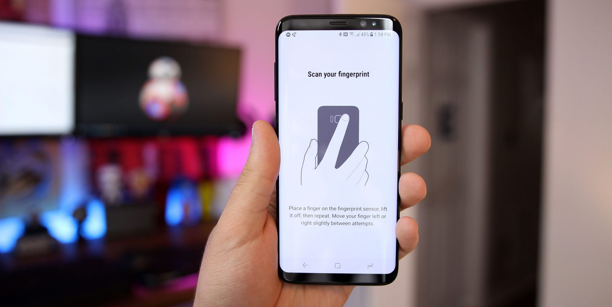 How To Setup Galaxy S8 Plus Fingerprint Sensor Techviral