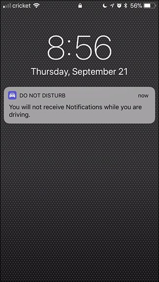 Do Not Disturb Enabled