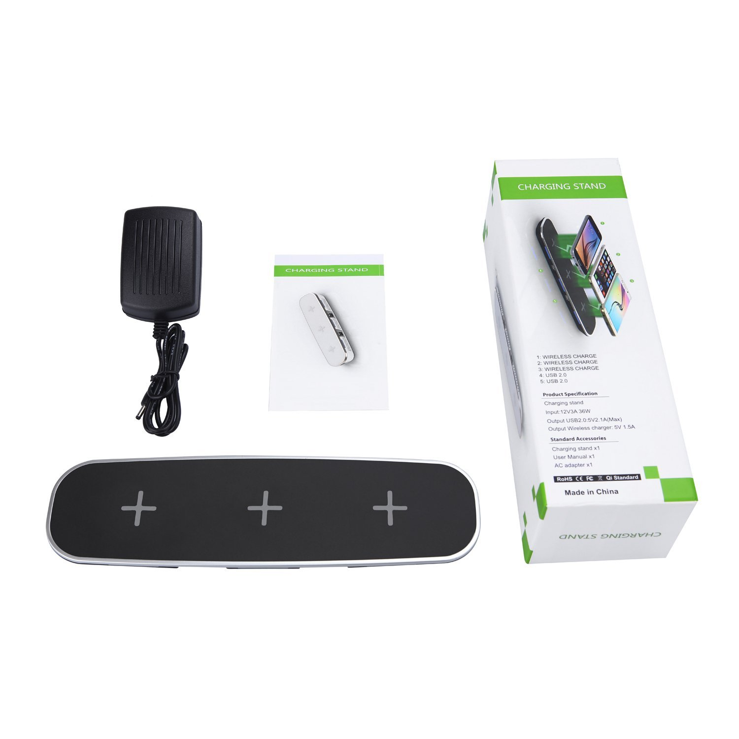 mobfun 3 Coils Wireless Charging Pad