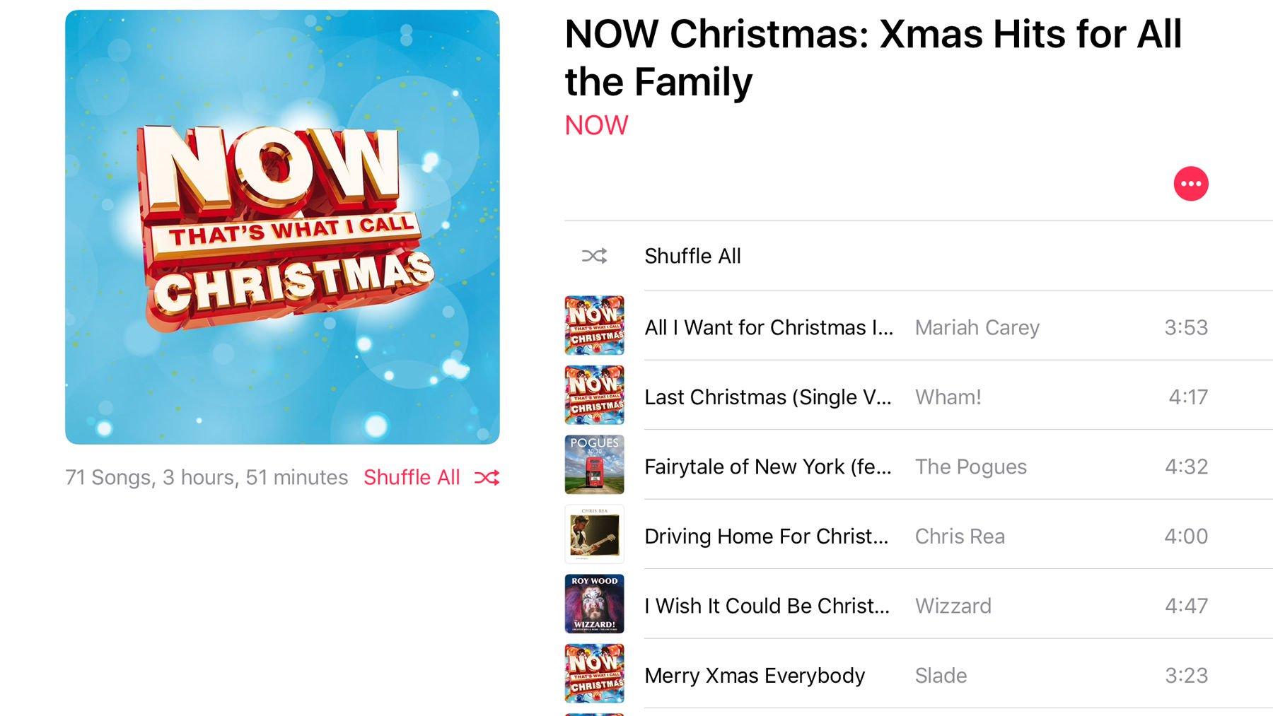Best Christmas music on Apple Music: Now Christmas