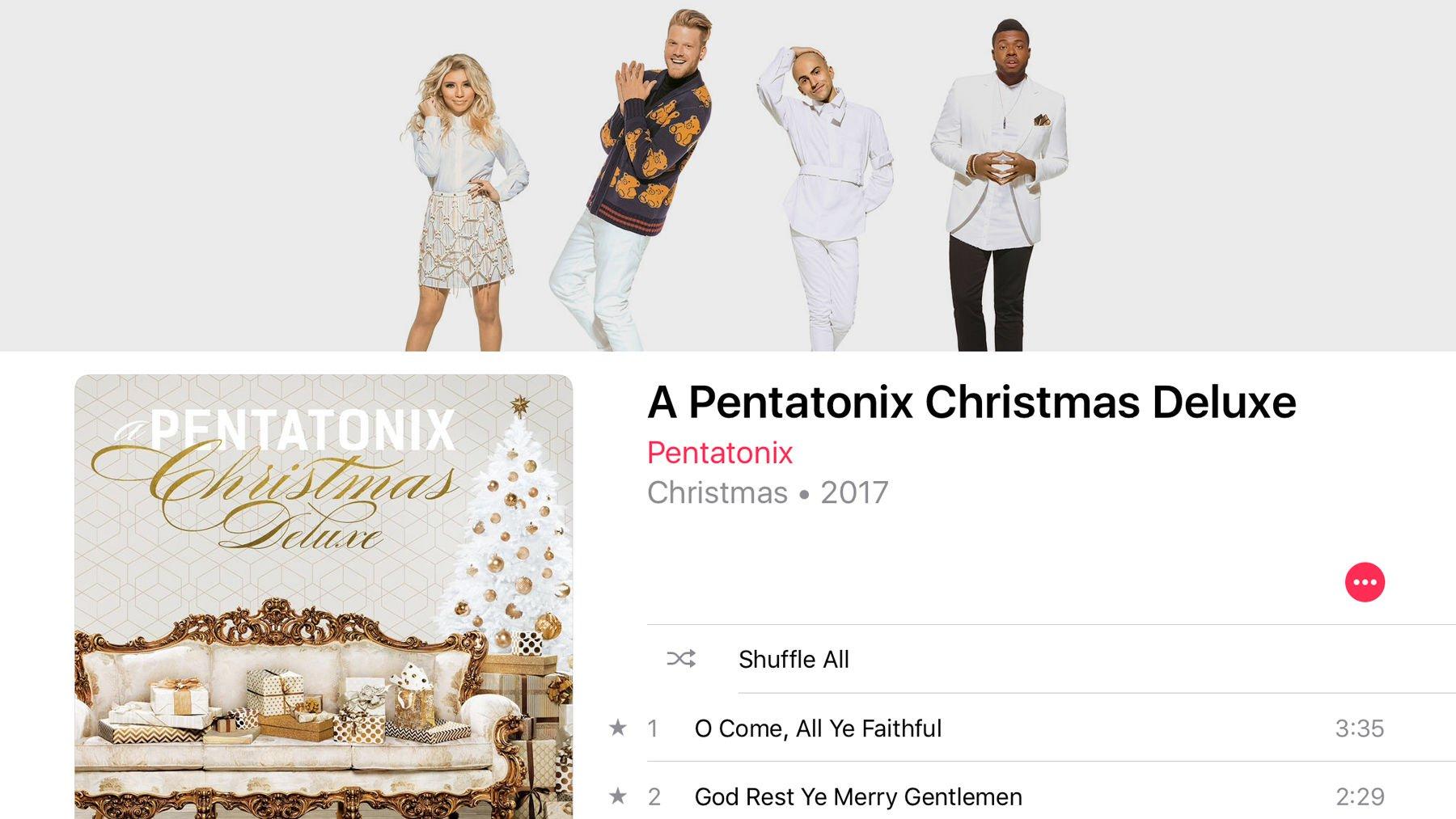 Best Christmas music on Apple Music: Pentatonix