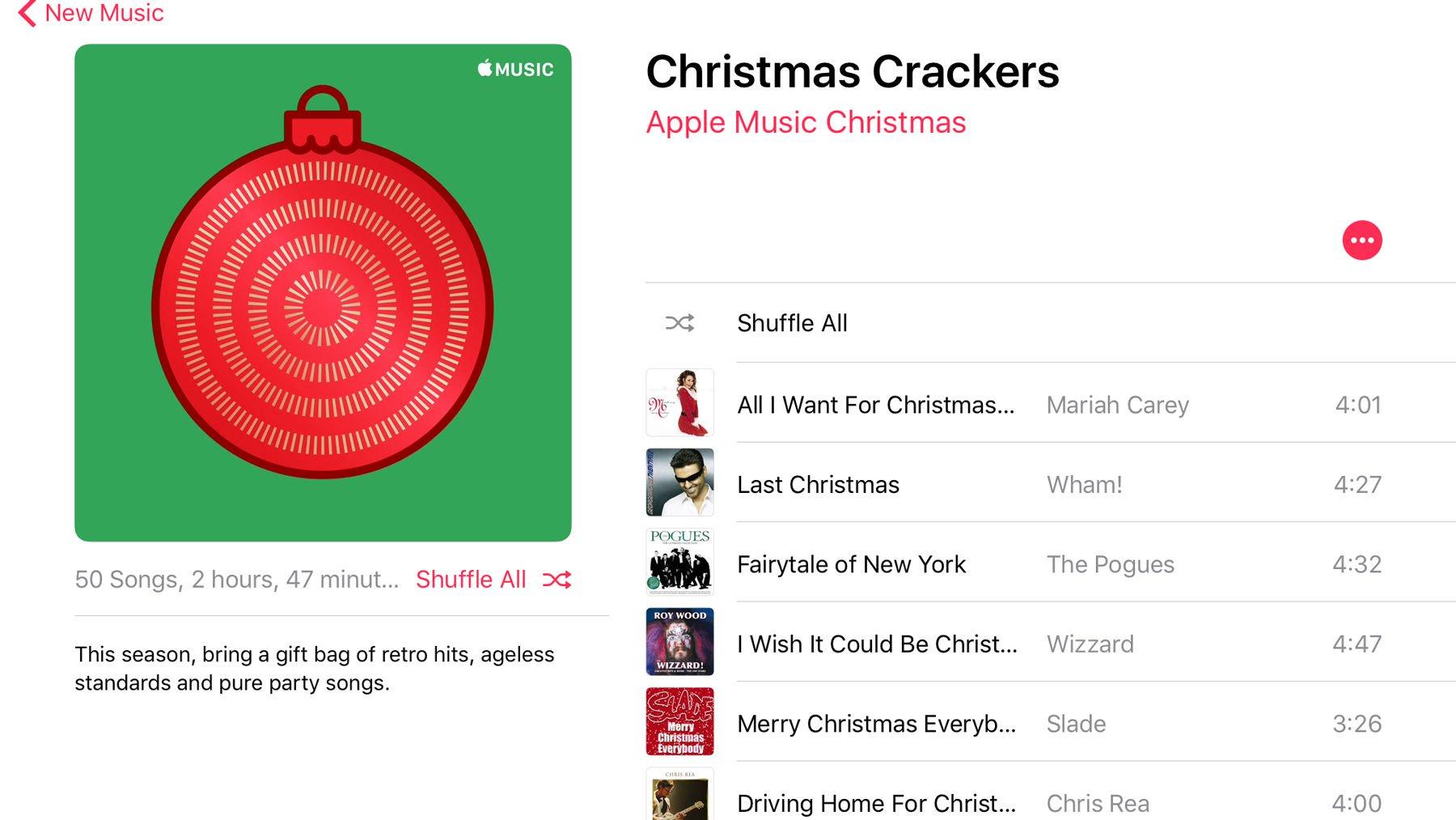 Best Christmas music on Apple Music: Christmas Crackers