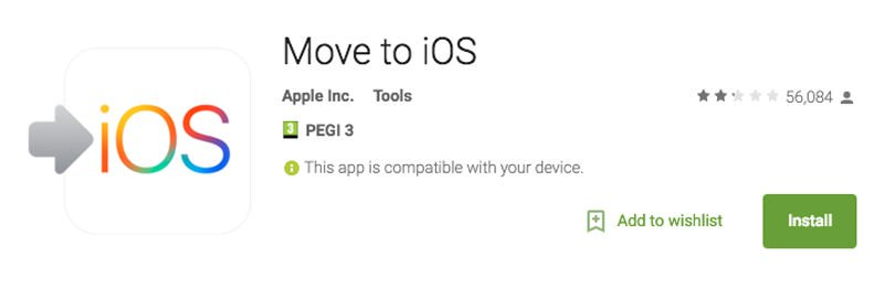 How to transfer from Android to iPhone: Move to iOS app