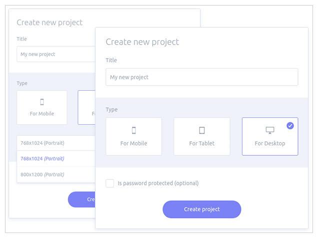 Presentator online sharing tool
