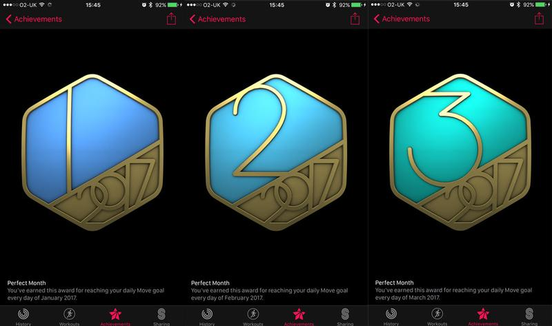 How to get every Apple Watch Activity achievement badge: Perfect Month