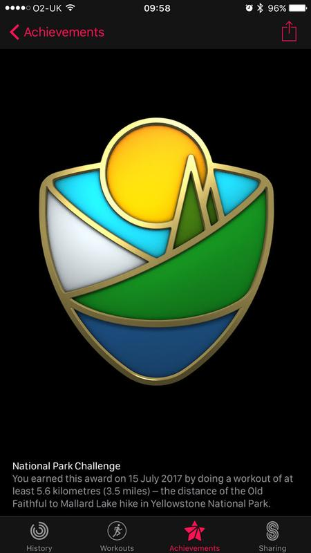 How to get every Apple Watch Activity achievement badge: National Park Challenge