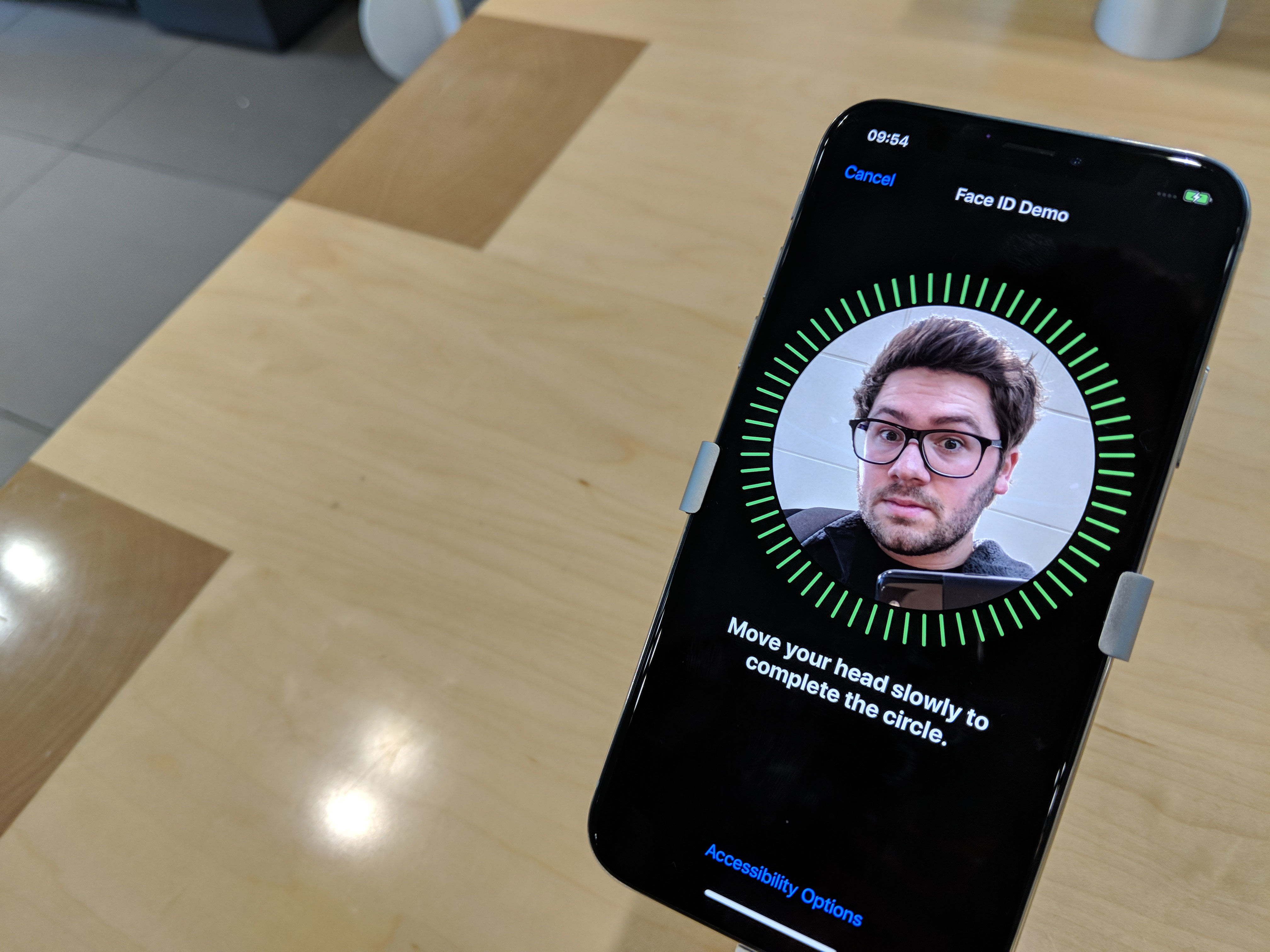 iPhone X review: Face ID