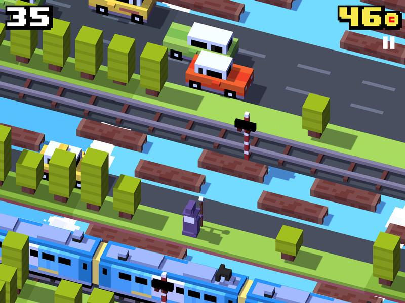 Best free iPad games: Crossy Road