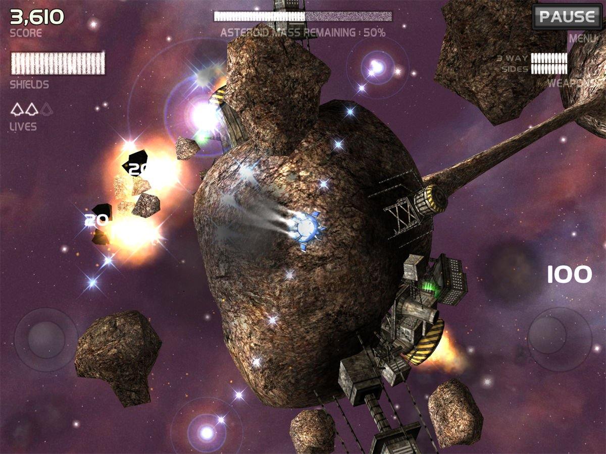 Best free iPad games: Darkside Lite