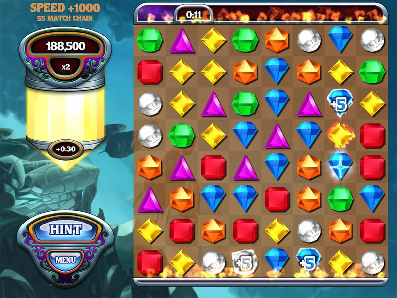 Best free iPad games: Bejeweled Classic HD