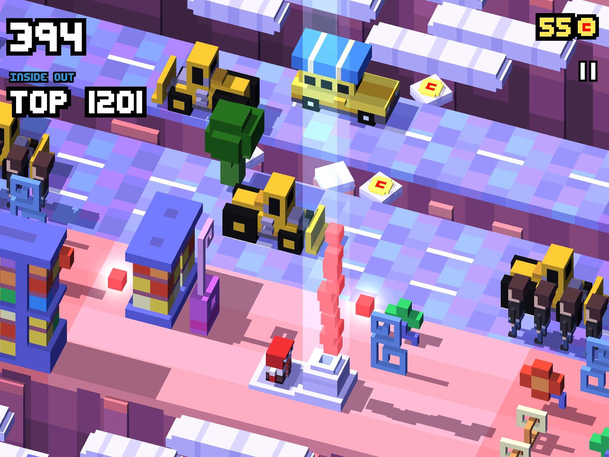 Best free iPad games: Disney Crossy Road