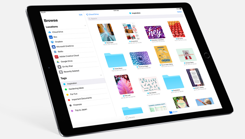iOS 11 news: Files