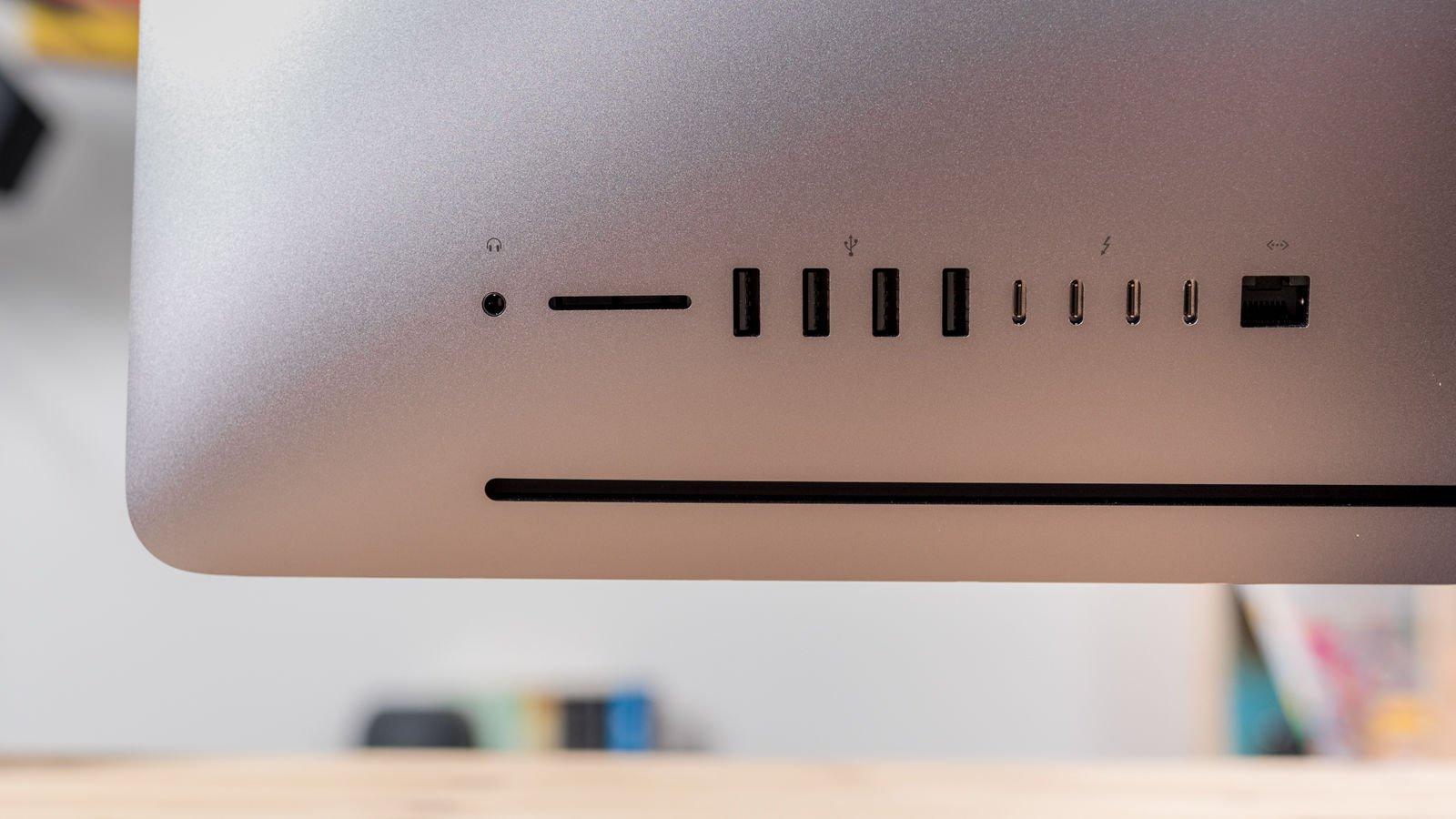 iMac Pro review: Ports