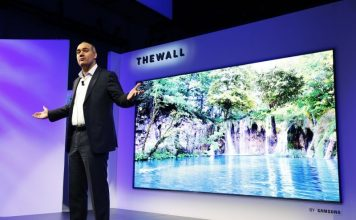 CES 2018: Samsung Launches its First 146-inch Modular TV at CES 2018