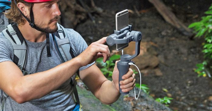 DJI's second smartphone gimbal gets improved controls and a lower price