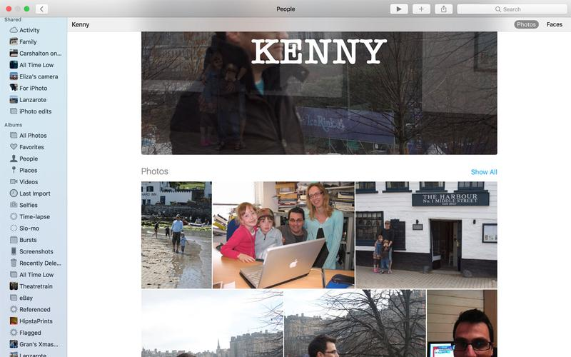 How to use the Photos app for Mac: People